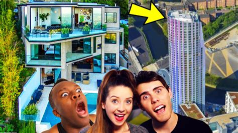 ksi house top 10 most expensive youtuber homes faze optic sidemen ksi zoella house youtube