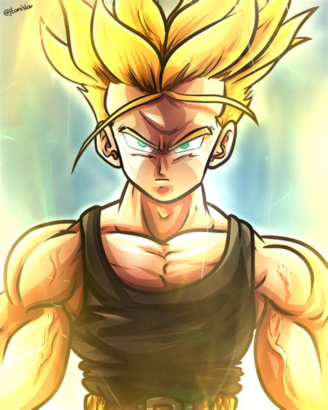 future trunks dragonball z by tomislavartz on deviantart