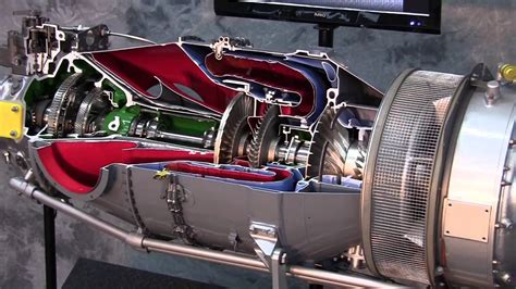 pratt whitney pt6 engine cutaway of a mainstay available pratt whitney pt6 engine youtube