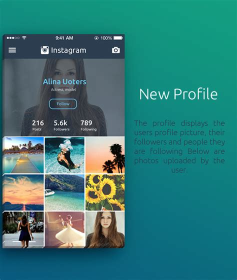 designtaxi instagram an instagram redesign concept that shows your photographs
