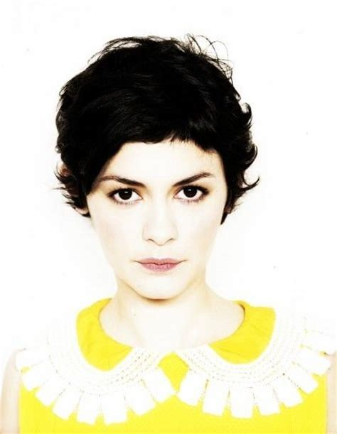 french actress with short hair 256 best audrey tautou images on pinterest audrey tautou