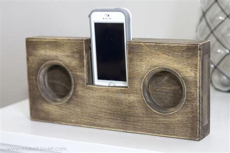 Coustic Audio Tweter Mobil Set wooden phone lifier speaker no cord or batteries needed