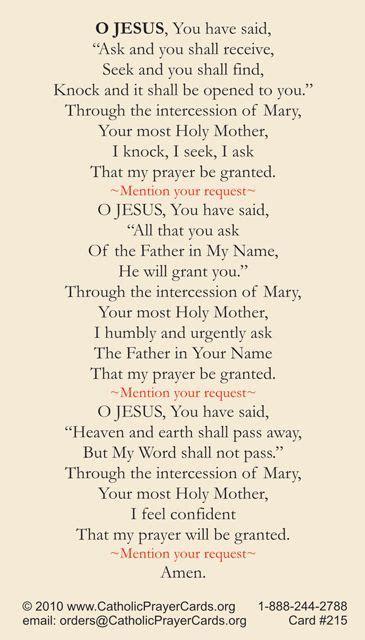Infant of prague novena prayer for urgent needs recite every hour