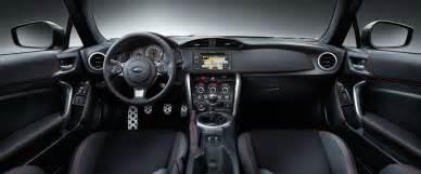Fin Comfort Interior 2017 Brz Subaru Canada