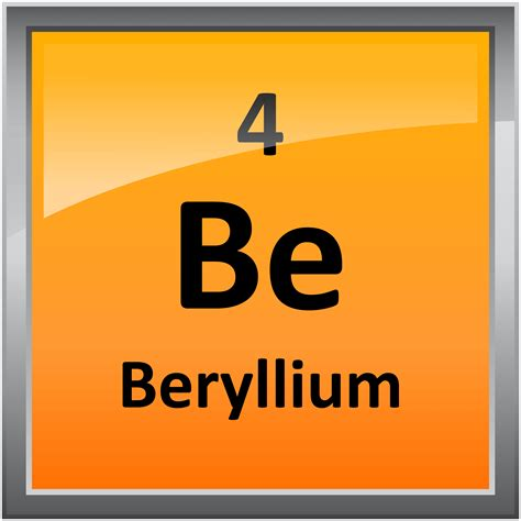 004 beryllium science notes and projects