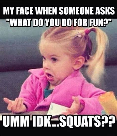 Funny Exercise Meme - squat meme gym memes fitness memes crossfit gym