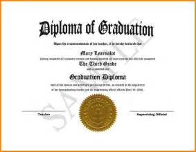 High School Diploma Templates by 10 High School Diploma Template Word Sle Of Invoice