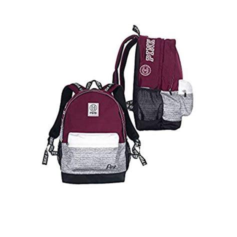 secret pink backpack