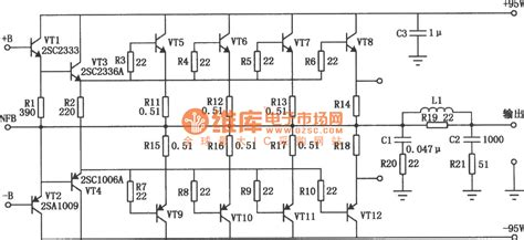 Power Lifier Sound System high power transistor lifier circuit diagram wiring diagram