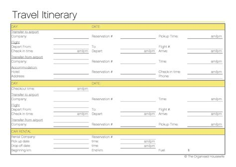 Free Printable Travel Itinerary Travel Itinerary Template Kuala Lumpur And Tourism Free Travel Itinerary Planner Template
