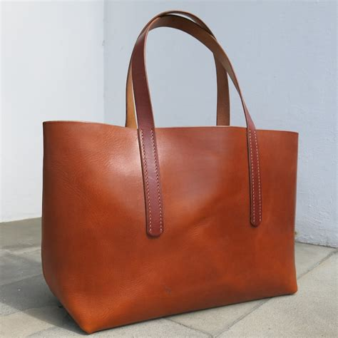 leather bag leather tote bag be cause style travel collecting