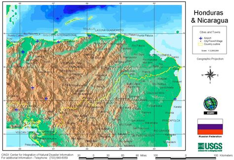 area code from us to honduras nationmaster maps of honduras 9 in total