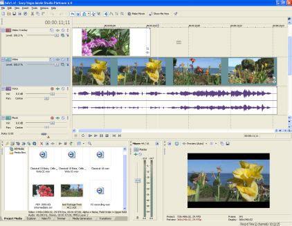 format video hdv sony vegas movie studio