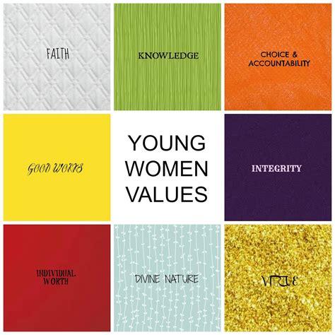 yw value colors mormon personal progress motivation