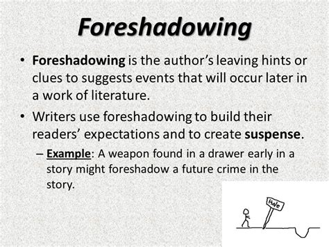 suspense and foreshadowing ppt video online download