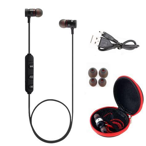 Headset Iphone 6 Ori produs hestia bt31 magnetic sports wireless bluetooth 4 1 aptx headphones stereo earphones