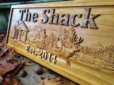 Handmade Wooden Signs Custom - personalized cabin sign custom wood sign rustic cabin decor