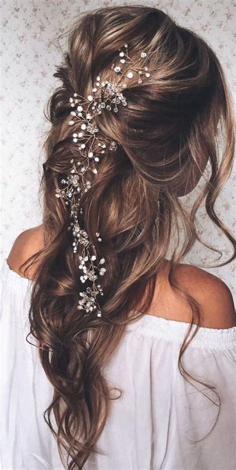 Bridal Hairstyles For Thick Hair by 20 Fabulous Bridal Hairstyles For Hair Crazyforus