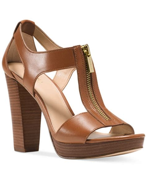 michael kors sandals macys michael michael kors berkley t platform dress