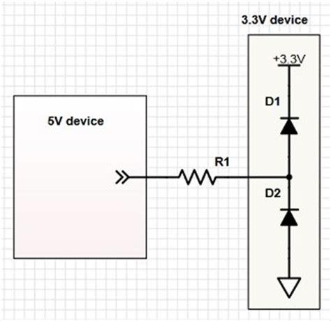 schottky diode level shifter simulating mosfet based bidirectional 3 3v to 5v logic level shifter do it easy with scienceprog