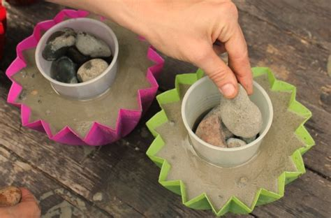 how to make a concrete planter one hundred dollars a month