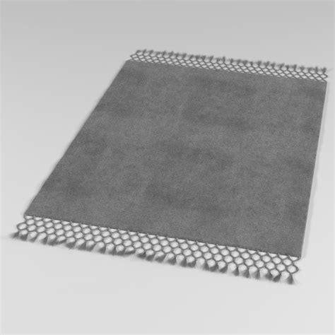 3d Model Rug baxter rug 3d model