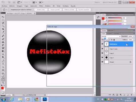 tutorial photoshop cs5 como hacer un logo como hacer un logo con tu nombre en photoshop cs5 doovi