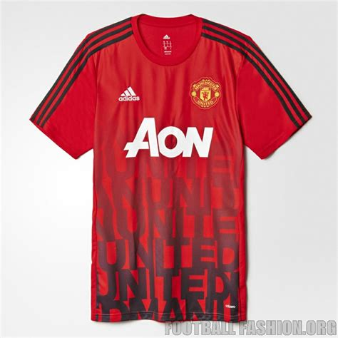 Jersey Manchester United Prematch 1618 manchester united 2016 adidas pre match jersey 3 football fashion org