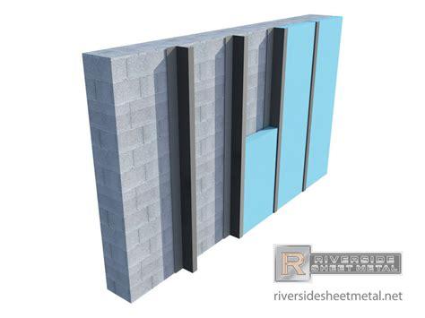 Hem Channel custom z furring channel for insulation masonry metal