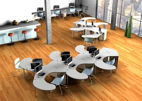 office desk plan what s an open office plan expert shares opinion omnirax