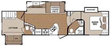 Two Bedroom Rv Floor Plans 2 Bedroom 5th Wheel Floor Plans Search Rv