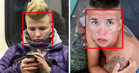 Find By Recognition Russian Photographer Uses Recognition To Find He Snaps On Subway The
