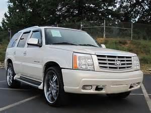 24 Inch Cadillac Escalade Rims Sell Used Cadillac Escalade 2004 6 0 V8 Awd Custom 24 Inch