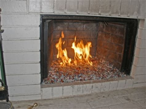 glass bead fireplace amazingglassflames how not to do it fireplace glass