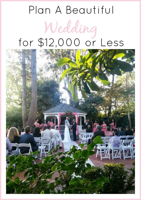 Wedding Budget Of 12000 by How To A Wedding For 12 000 Or Less Knows It All