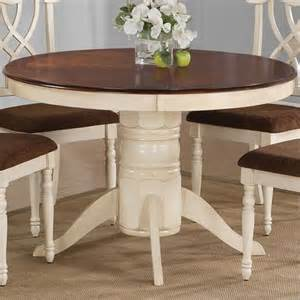 Duncan Phyfe Dining Room Set coaster furniture 103180 cameron cottage round pedestal