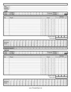 Printable Basketball Score Sheet Pdf by Printable Basketball Score Sheet