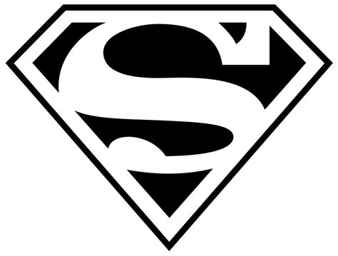 symbol templates superman logo template clipart best