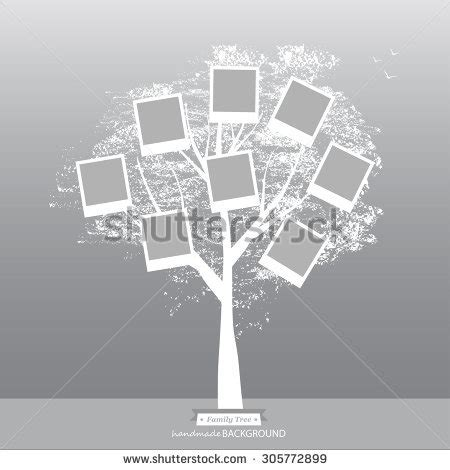 Memories Tree Picture Frames Insert Your Stock Vector 450115108 Shutterstock Vintage Family Frames Tree Stock Image Image 32018791