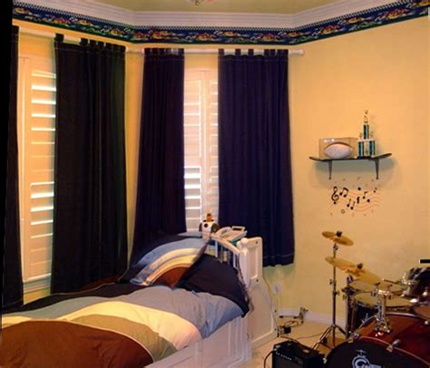 boy bedroom curtains teen boys room curtains myideasbedroom com