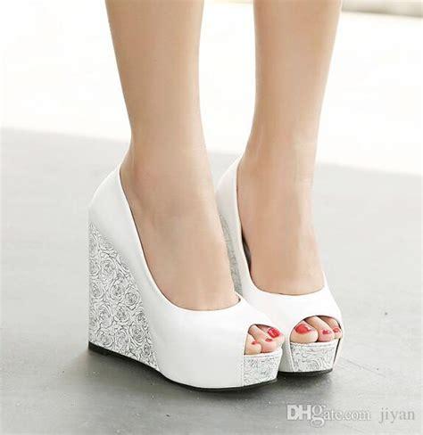 New Best Seller Sepatu Sandal Wanita Wedges Heels Flatshoes Boot Sn size 35 39 wedding shoes 2017 new peep toe fish fashion platform high heels wedge