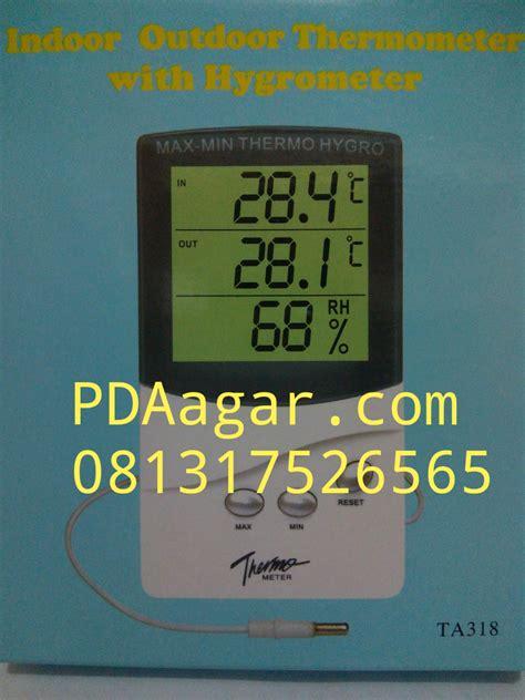 Termometer Digital Di Malang jual alat ukur suhu udara dan kelembaban ruangan thermo