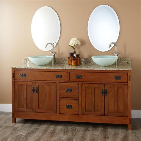 72 quot halstead vessel sink vanity bathroom