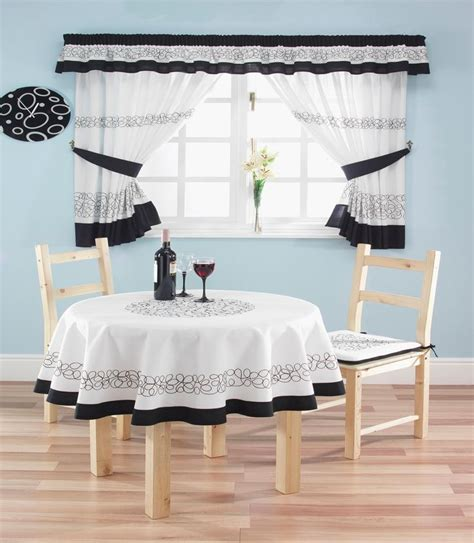 curtain patterns for black and white kitchen 7 best buying modern kitchen curtains for a brand new look