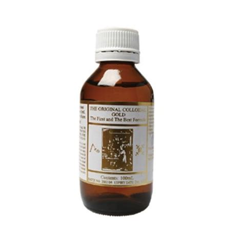original colloidal gold 100ml