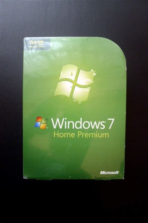 microsoft windows 7 home premium upgrade boxed 32 64 bit