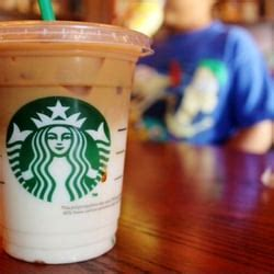 Tees Starbucks Ls tea to the a yelp list by w
