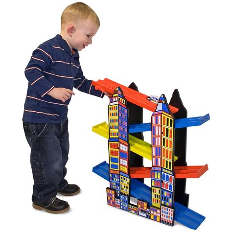 My Racing Set City 1 and doug 174 city r racing set 147113 toys at sportsman s guide