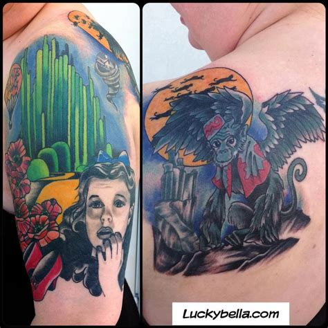 wizard of oz tattoos wizard of oz by cook tattoonow