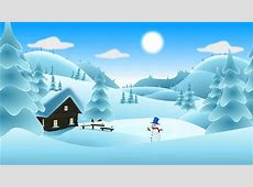 Landscape Scenery Snow · Free vector graphic on Pixabay Free Clip Art Christmas Theme